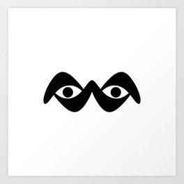Look into my eyes Art Print