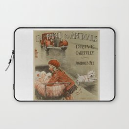 Be Kind To Animals 2 Laptop Sleeve