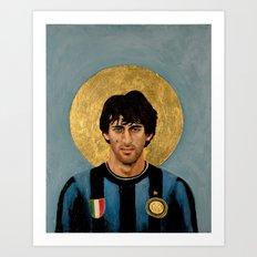 DM - Football Icon Art Print