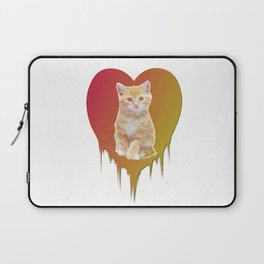 Cat in your heart Laptop Sleeve