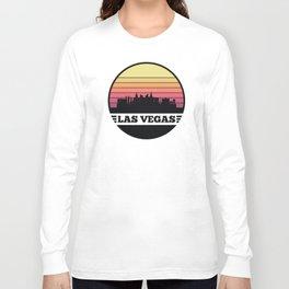 Las Vegas Skyline Long Sleeve T-shirt