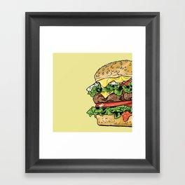 Eat Me Framed Art Print
