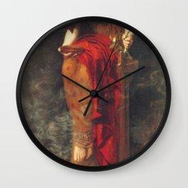 John Collier Priestess of Delphi Wall Clock