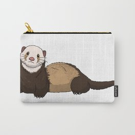Ferret Illustration Carry-All Pouch