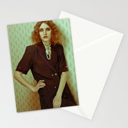 Ghost woman Stationery Cards
