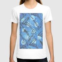 martini T-shirts featuring moonlite martini by Kim Codner Designs