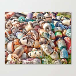 Smith Island Crab Floats Canvas Print