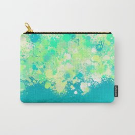 paint splatter on gradient pattern bryi Carry-All Pouch