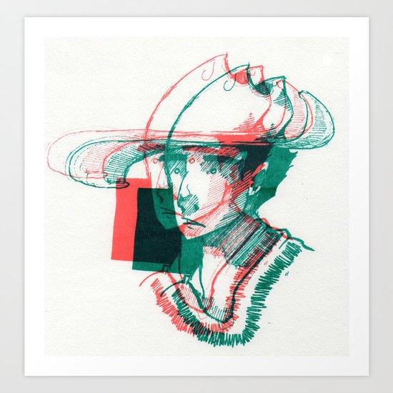 2D3D Art Print