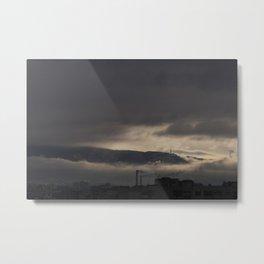 Clouds of Vitosha Metal Print