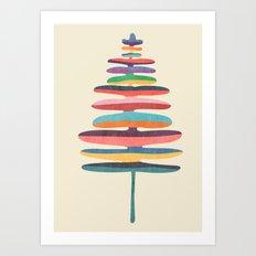 Joy Fern Art Print