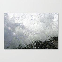 Wave crashes Canvas Print