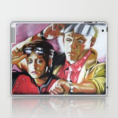 MARTY AND THE DOC Laptop & iPad Skin
