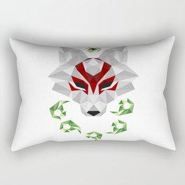 Crystal Okami Rectangular Pillow