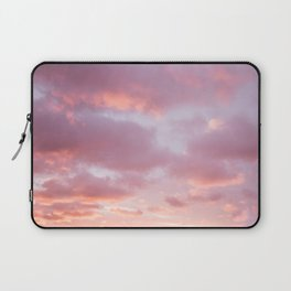 Unicorn Sunset Peach Skyscape Photography Laptop Sleeve