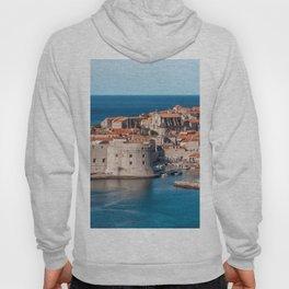 Croatia Europe Mediterranean Harbor Photo Hoody