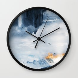 Emergency Wall Clock