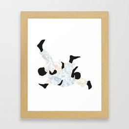 Delicate Judoka 02 Framed Art Print