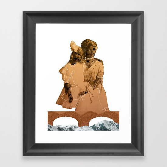 Mrs Smither-Henry Framed Art Print