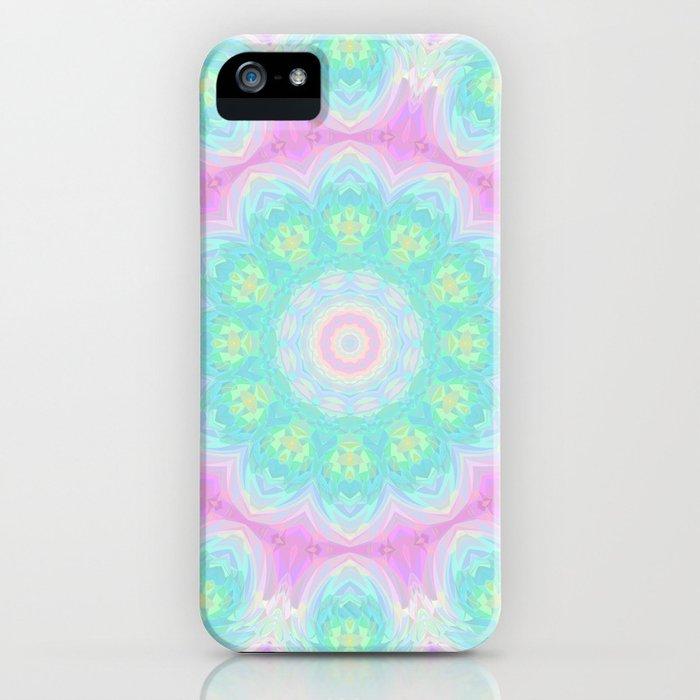 Sparkly Mandala 1 iPhone Case