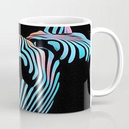 5143s-MAK Zebra Stripe Curves Sensual Female Body Art Coffee Mug