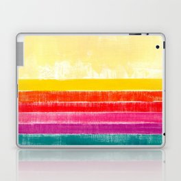 Abstract rainbow pattern in acrylic Laptop & iPad Skin
