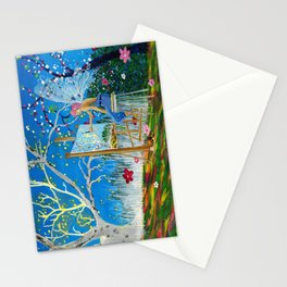 Fairy Artist Stationery Cards