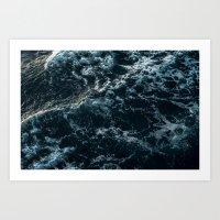 White Wash Art Print