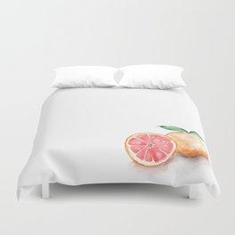 Watercolour Grapefruit Duvet Cover