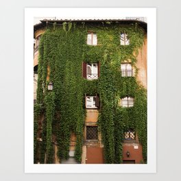 The Overgrowth Art Print