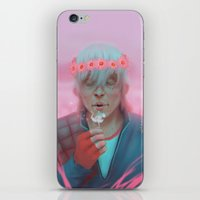 dragon age inquisition iPhone & iPod Skins featuring Dragon Age - Cole by Holepsi