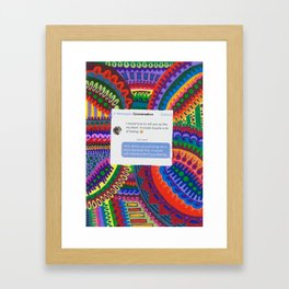 Blunt- Put Him In His Place Project Framed Art Print