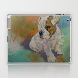 Bulldog Puppy Laptop & iPad Skin