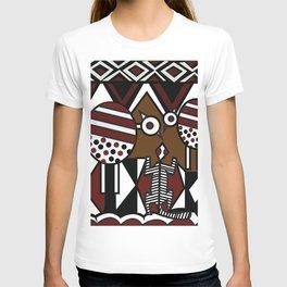 African Tribal Pattern No. 37 T-shirt