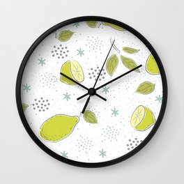 Limes Wall Clock