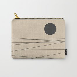 Minimal Landscape Carry-All Pouch