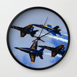 US Navy Blue Angels Wall Clock