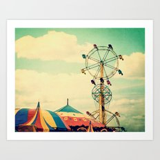 Get your ticket to ride. Art Print