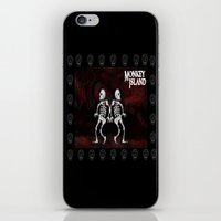 monkey island iPhone & iPod Skins featuring MONKEY ISLAND by Rocky Rock