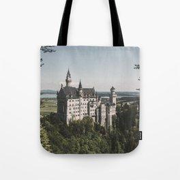 Neuschwanstein fairytale Castle - Landscape Photography Tote Bag