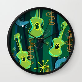Music Was In The Air Wall Clock