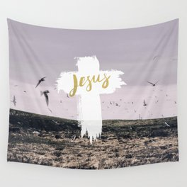 JESUS | EASTER | CROSS Wall Tapestry