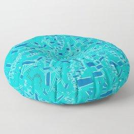 Underwater Diggin' Your Poket Floor Pillow