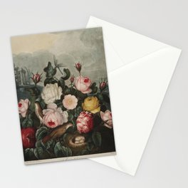 Thornton, Robert John (1768-1837) - The Temple of Flora 1807 - Roses Stationery Cards