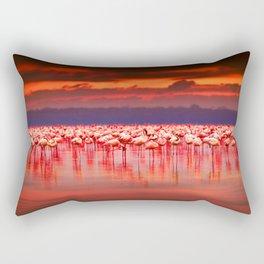 Pink creators Flamingo Rectangular Pillow