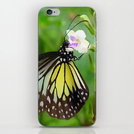 Chinese violet flower iPhone Skin