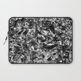 Striking Silver Laptop Sleeve