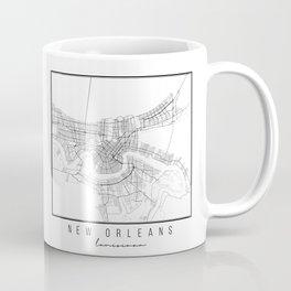 New Orleans Louisiana Street Map Coffee Mug