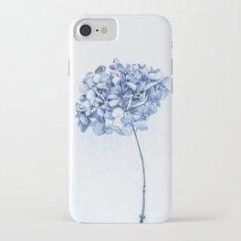 Hydrangea Blue 2 iPhone Case