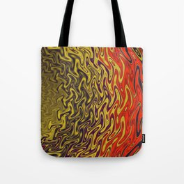 Ripples in Indian Summer Tote Bag